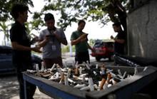 Philippines cứng rắn với thuốc lá