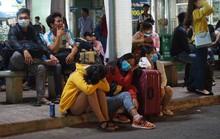 Vật vã trở lại Sài Gòn sau lễ