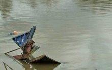 Phà chìm trên sông Đồng Nai, nhiều người thoát chết trong gang tấc