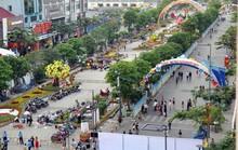 Đường Nguyễn Huệ cấm xe trong sáng 6-8