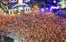 Cấm xe lưu thông vào đường Nguyễn Huệ trong đêm 13-5