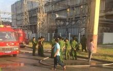 Cháy lớn tại Công ty Nhiệt điện Phả Lại