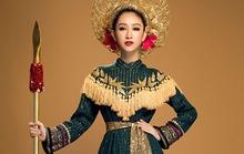 Hà Thu mang câu chuyện Hai Bà Trưng đến Hoa hậu Trái Đất 2017