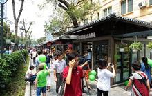 Khai trương phố sách đầu tiên ở thủ đô Hà Nội
