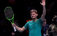 Goffin giành vé cuối vào bán kết ATP Finals