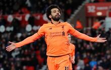Salah bất ngờ đứng đầu danh sách Vua phá lưới ở Anh