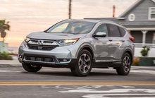 Honda CR-V 2017 bản 7 chỗ, máy dầu có giá từ 917 triệu đồng
