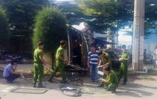 Xe container gây tai nạn nghiêm trọng trong KCN Tân Bình