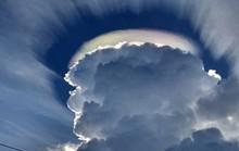 Vầng hào quang kỳ lạ trên bầu trời Đắk Lắk