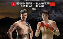 Duy Nhất sang Singapore đấu võ sĩ Trung Quốc