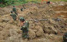 Sạt lở đất ở Hòa Bình: Tìm thấy nạn nhân thứ 9