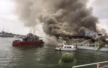 Nơm nớp lo cháy tàu
