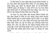 Bình Chánh, Hóc Môn bị phê bình liên quan xây trường mầm non
