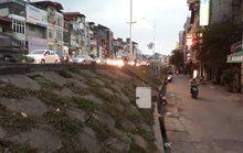 Cẩn trọng khi hạ đê sông Hồng làm đường