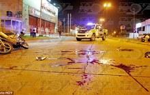 Em họ Rojo bị bắn chết vì cướp tiền trạm ATM