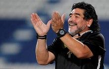 Maradona tái xuất trên ghế HLV ở Ả Rập