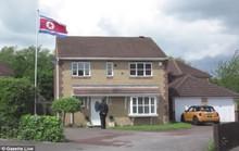 Sự thật bất ngờ về ngôi nhà bí ẩn treo cờ Triều Tiên tại Anh
