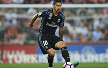 James Rodriguez rời Real Madrid