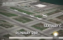 Máy bay cách thảm họa... 30 m!