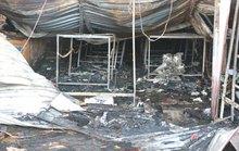 Cháy nhà xưởng, 8 người chết