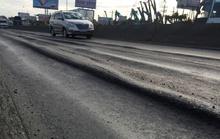 """""""Ruộng bậc thang"""" trên Quốc lộ 1 bắt đầu được sửa"""