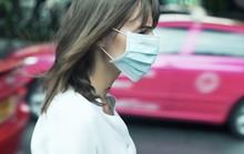 Đi bộ trên phố ô nhiễm chỉ là công dã tràng