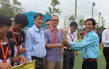 Hơn 700 CNVC-LĐ dự giải bóng đá mini