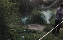 Phát hiện xác nữ khỏa thân trong bao tải bên đường
