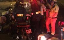 CSGT bắt 2 đối tượng đánh phụ nữ, cướp tài sản