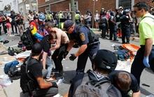 Lao xe, rơi trực thăng trong bạo động, hàng chục người thương vong