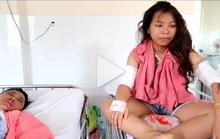 Clip các nạn nhân vụ tạt a xít ở TP Biên Hòa