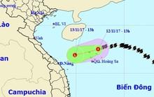 Bão số 13 bất ngờ suy yếu, có thể tan trên biển
