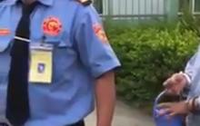 Xôn xao clip bảo vệ bệnh viện ngăn phát cháo từ thiện