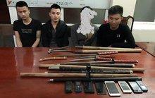 Cảnh sát 113 nổ súng, bắt 2 nhóm đâm chém trên đường