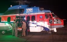Điều trực thăng ra Trường Sa trong đêm để cứu ngư dân