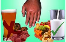 Thực phẩm hỗ trợ chữa bệnh gút