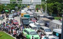 TP HCM sẽ cấm xe tải chạy vào trung tâm