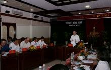 Cảnh cáo nguyên Bí thư Tỉnh ủy Bình Định