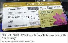Rộ mánh lừa đảo tặng vé máy bay