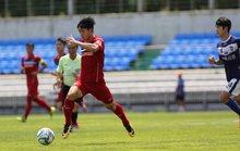 U22 Việt Nam thắng đậm Busan FC