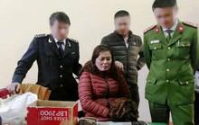 Cảnh sát biển bắt người phụ nữ ôm 3 bánh heroin vào Nam