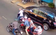 TP HCM: Dàn cảnh đụng xe máy chiếm đoạt 30 triệu đồng
