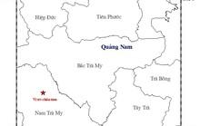 Lại xảy ra động đất gần thủy điện Sông Tranh 2