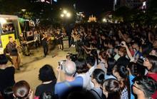 """Mãn nhãn với """"Nghệ thuật đường phố TP HCM"""" trên phố đi bộ Nguyễn Huệ"""