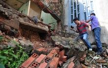 Đồng Nai: Hàng loạt căn nhà sập do sạt lở