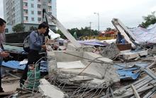 Khám nghiệm hiện trường vụ sập siêu thị, 4 người bị thương