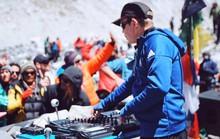 DJ hàng đầu tổ chức tiệc âm nhạc ở nóc nhà thế giới