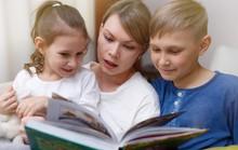 Đọc sách cùng cha mẹ giúp con nói chuẩn, trôi chảy