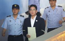Thái tử Samsung lãnh 5 năm tù giam