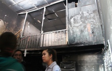 Vợ chết ngạt, chồng dìu 2 con khỏi đám cháy